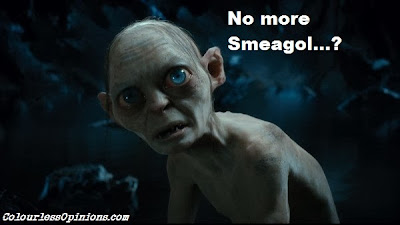 The Hobbit sad Golum meme