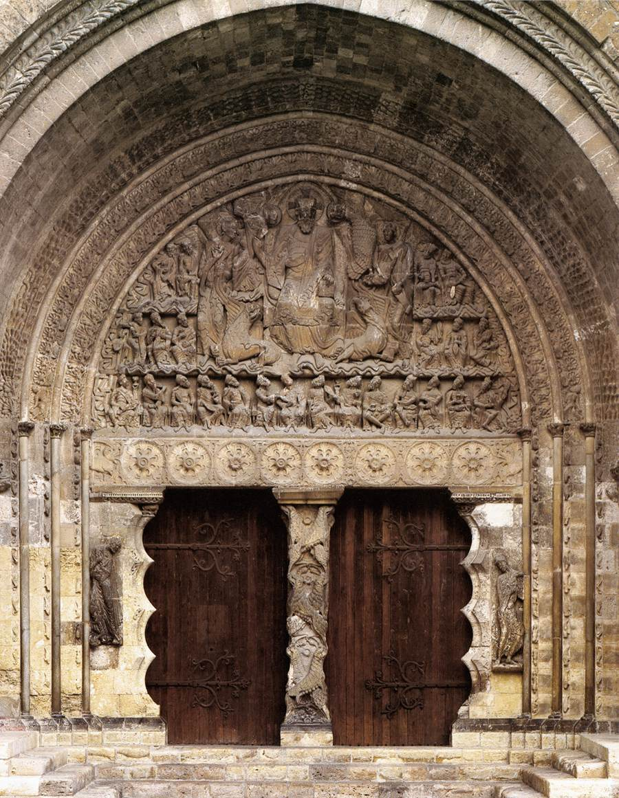 bensozia the abbey of st peter moissac On portal w moissac