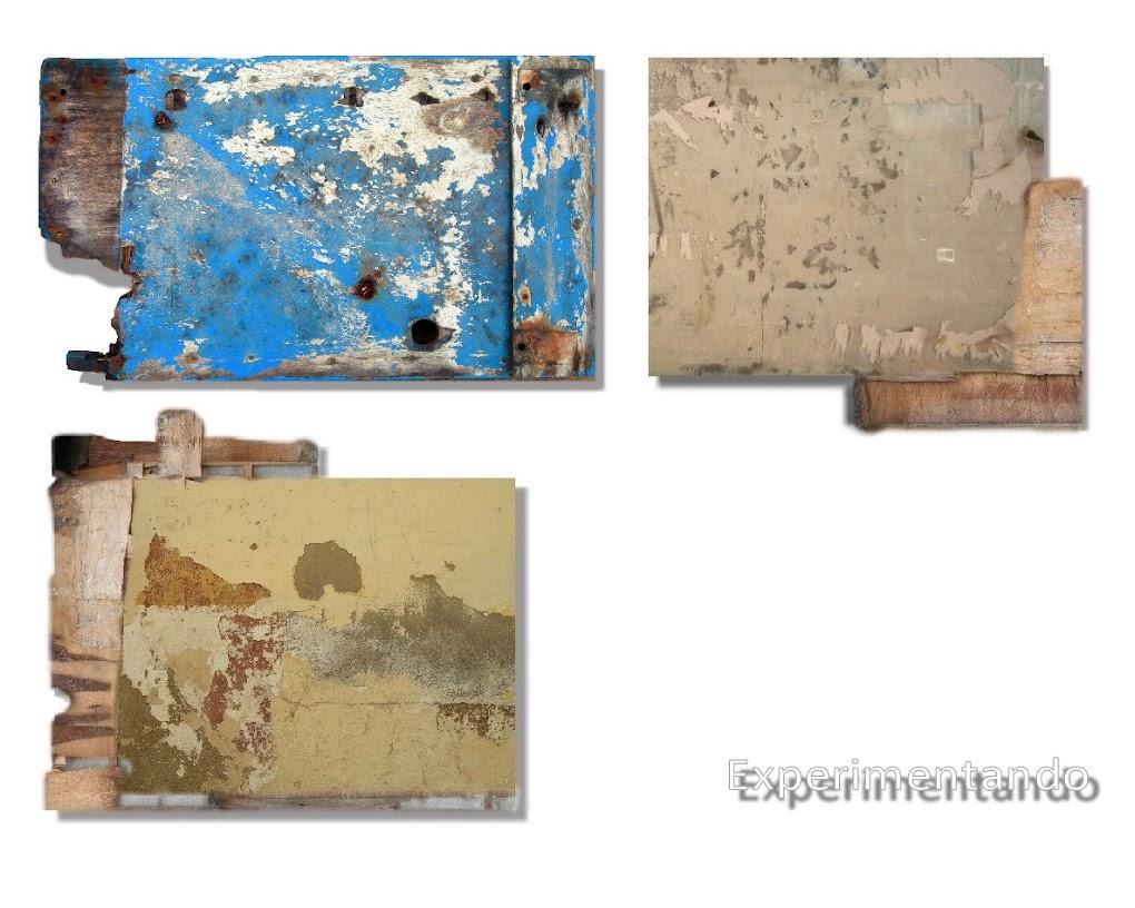 Aunque me siento un pintor FIGURATIVO, veo la necesidad de experimentar con nuevos materiales