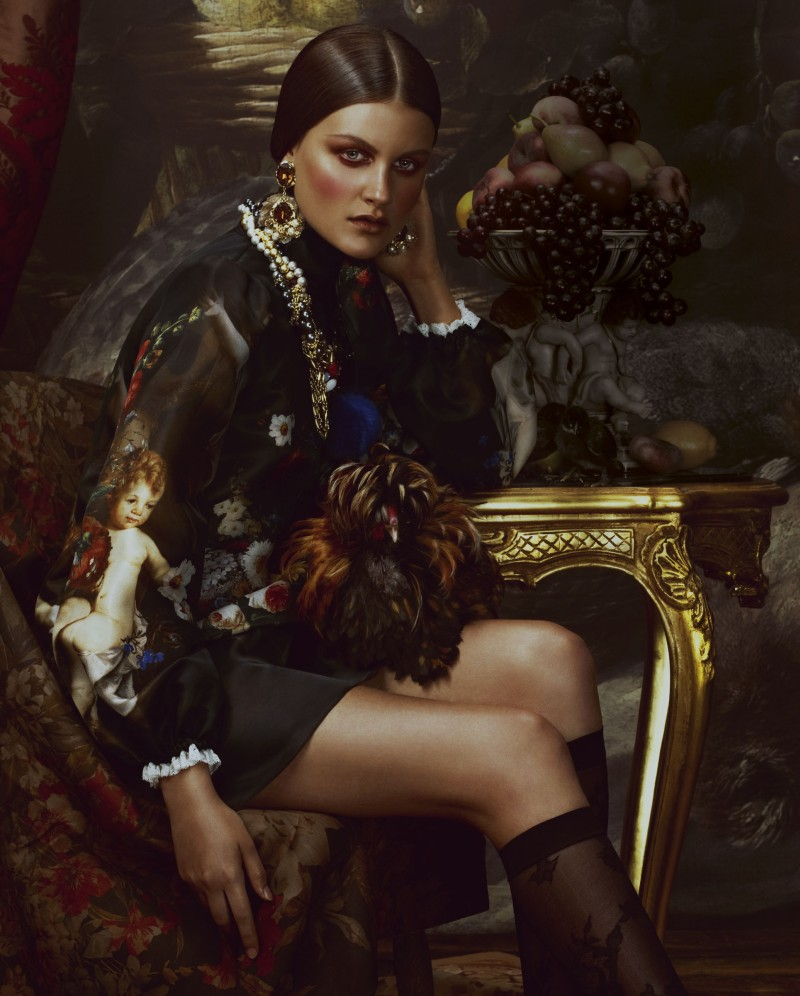 Heart of gold a baroque portrait for Baroque fashion trend