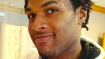 "John Crawford III: Murdered by police in Walmart for carrying a pellet gun he was  purchasing - In Ohio, a supposed ""open carry"" state. Proving once again that ""open  carry"" laws were designed for white people. After killing Crawford, police terrorizedhis girlfriend."