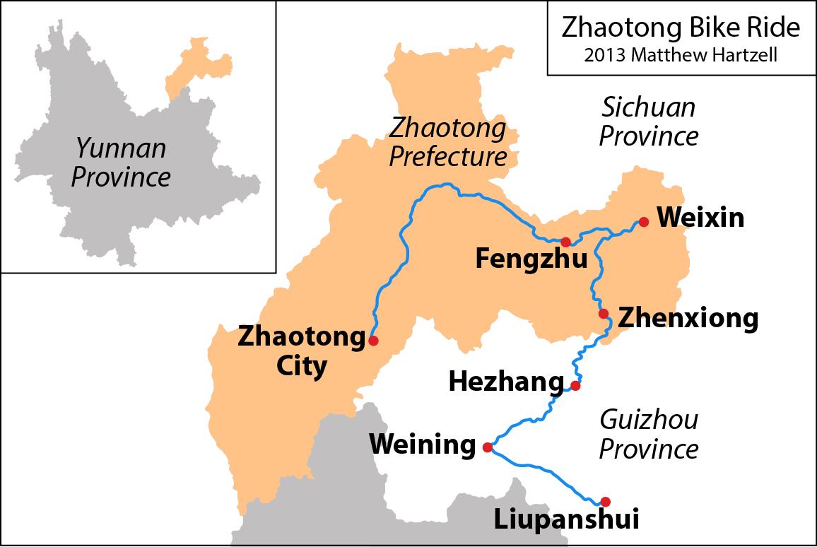 Zhaotong China  City new picture : Zhaotong: Yunnan's Forgotten Corner | Matt Hartzell's China Blog