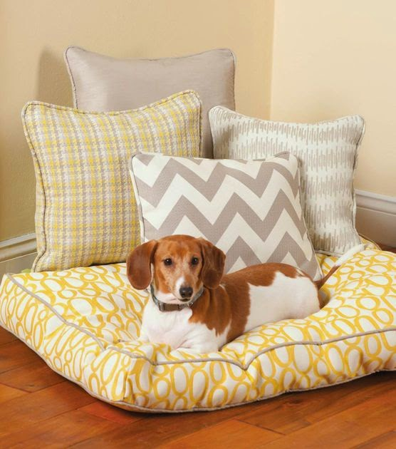 dog bed DIY - lina and vi