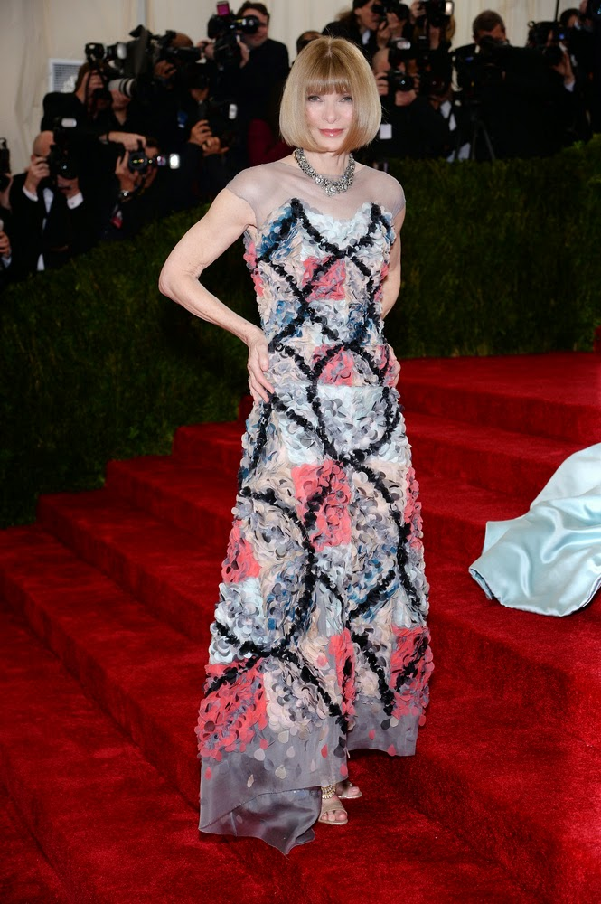 Anna Wintour, Met Gala 2014 Red Carpet