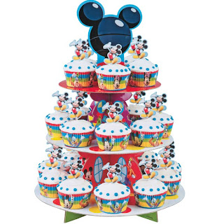Mickey Mouse Cupcakes Decoration