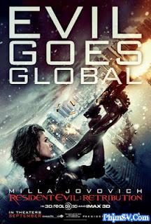 Phim Vùng Đất Quỷ Dữ 5: Báo Thù - Resident Evil: Retribution 2012