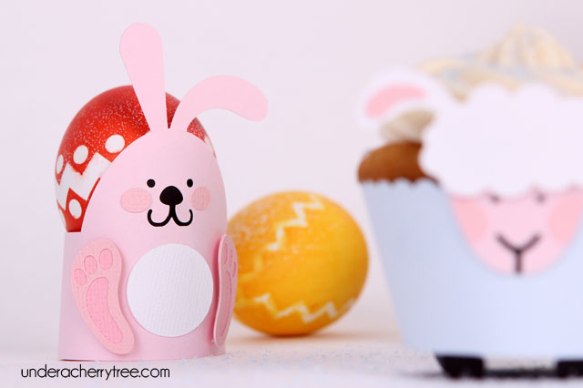 Under a cherry tree march 2012 peep squeakers cupcake wrappers egg holders gift card holders freebie negle Images