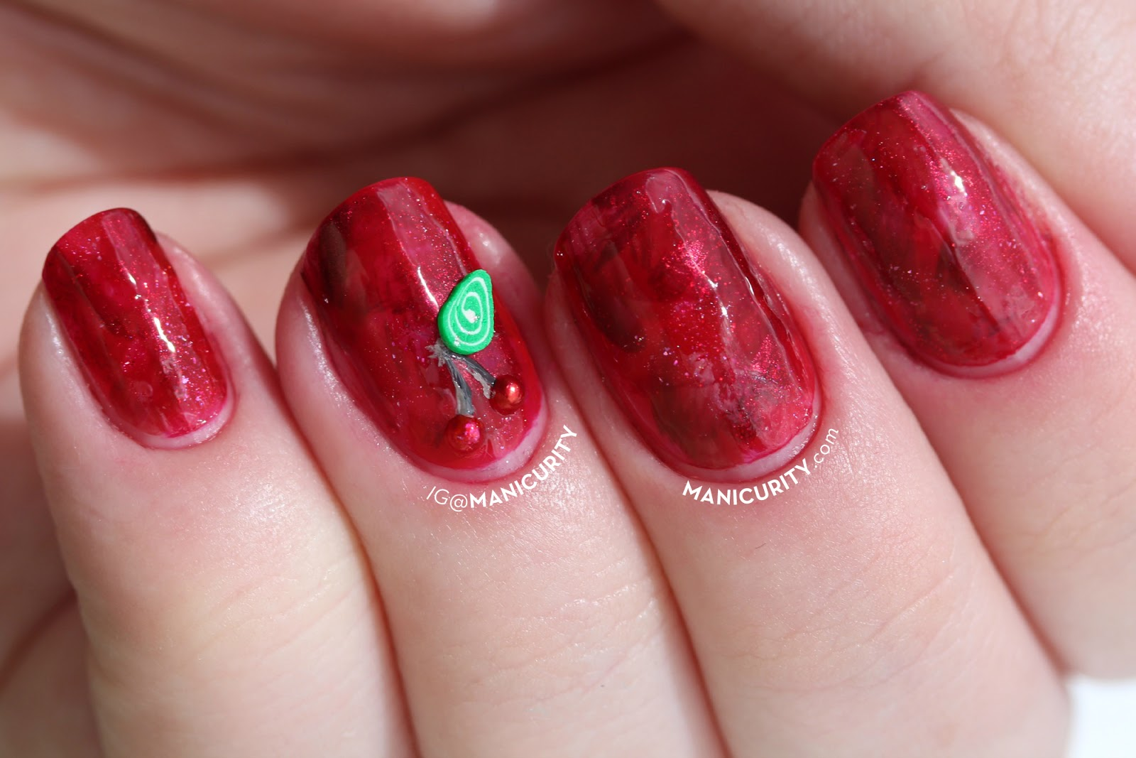 The Digit-al Dozen: Cast an Eyeball on These Nifty Fifties-inspired Abstract Brush Stroke Nails | Manicurity.com