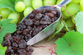Raisins are often an alternative to trick-or-treat candy.