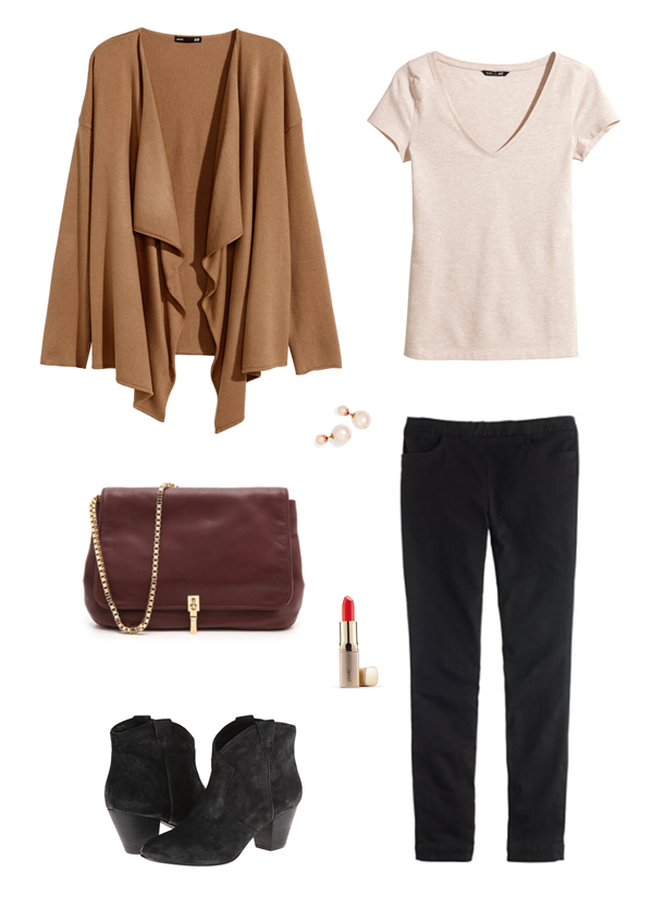 currently loving | camel + black