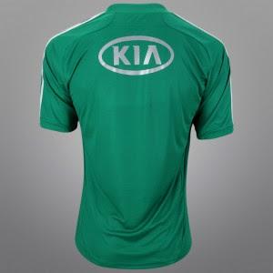 Nova Camisa oficial do Palmeiras 2012 2013