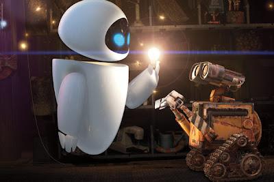 Eve y WALL-E.