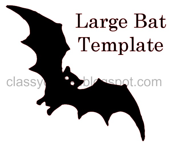 DIY Bat Garland for your Halloween party! - Classy Clutter