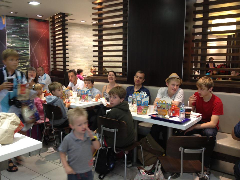 Gatwick McDonalds