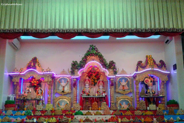 Image: Annakut Festival: Dhule BAPS Swaminarayan Temple
