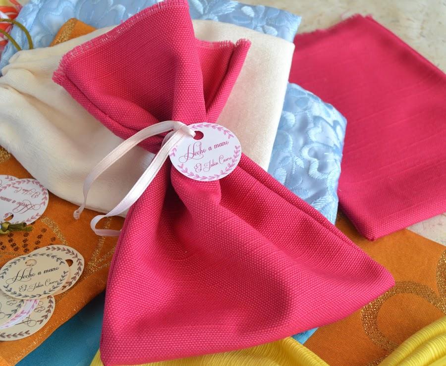 regalos artesanales bolsitas para jabones y balsamos el jabon casero