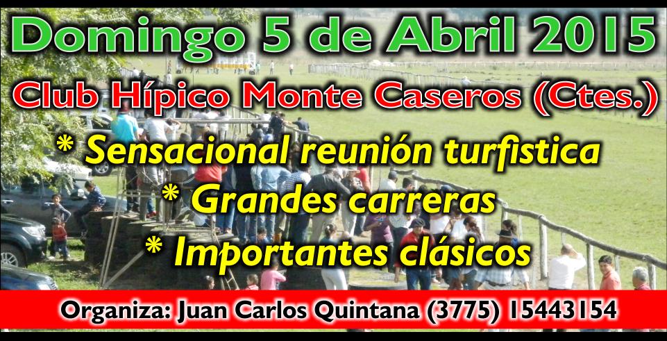 MONTE CASEROS - 05.04.2015