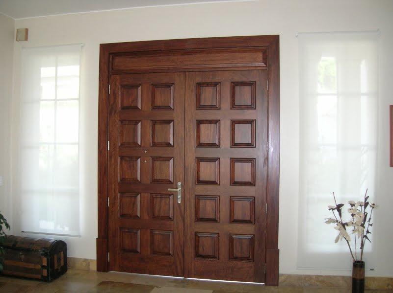 Ga carpinteria especial y de la construcci n for Puerta de ingreso principal