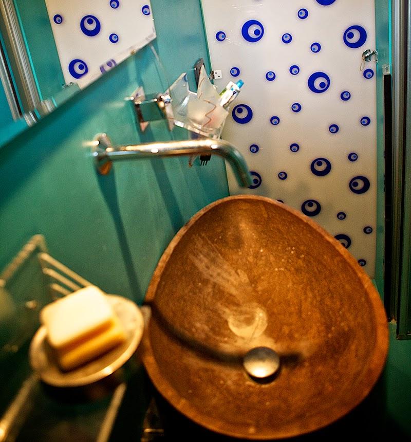 mansole bagno in plexiglass su misura