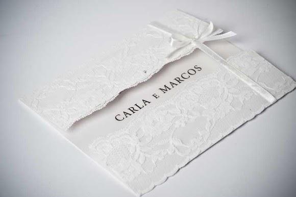 Especial Casamento Com Muita Renda Convites Tocando Emoções