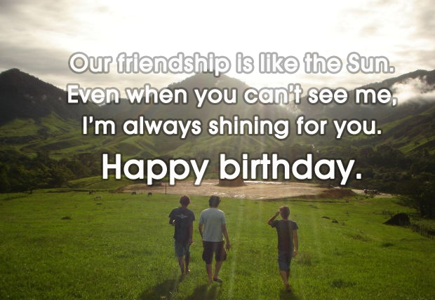 Happy Birthday Quotes Special Friend ~ Greeting birthday wishes for a special friend this about