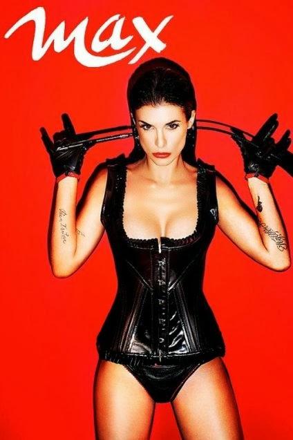 Fetish Inspirations : Elisabetta Canalis Turning Fetish For Max Magazine 09/2012