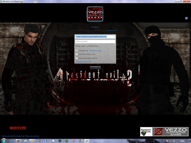 Download Skin-Msn 2009 - Resident Evil  4 File#2 - The new command