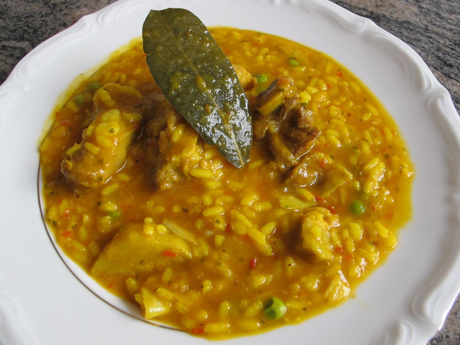 Raquelina dulce y fina arroz con costilla receta en - Arroz caldoso con costillas y alcachofas ...