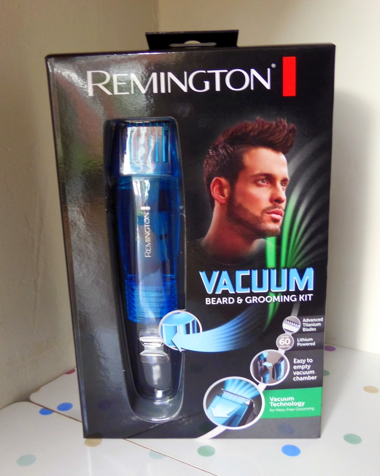 review and giveaway remington vacuum beard and grooming kit for father 39 s day lauren loves blog. Black Bedroom Furniture Sets. Home Design Ideas