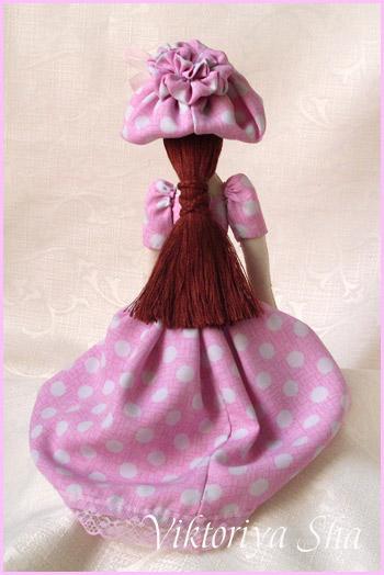 текстильная кукла Меган (Тильда)