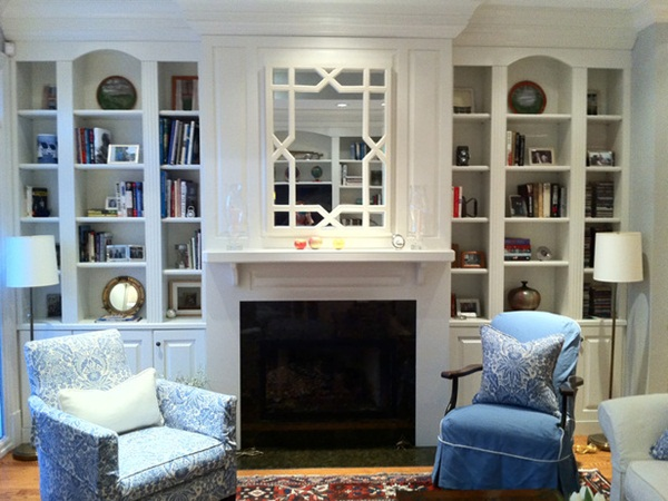 Living Room and Dining Room Designed by Meg Caswell