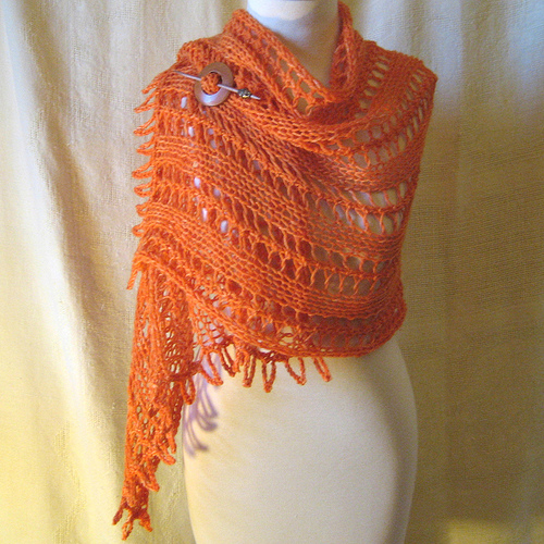knitting models: rectangular knitting shawl patterns