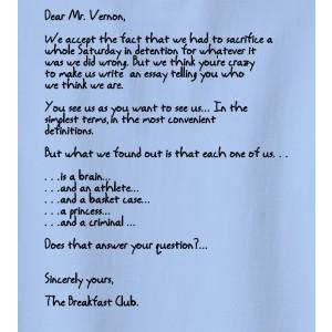The Breakfast Club English Essay