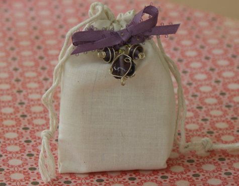 DIY Wedding Favors - Handmade Favor Gift Bag Tutorial