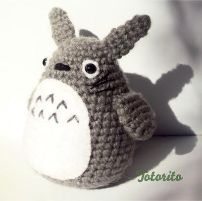 Amigurumi Totoro Patron Espanol : Mi mundo: Amigurumi MX: Patron amigurumi gratis: Totorito
