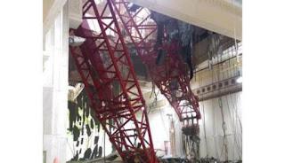 Crane jatuh di makkah, 2 jamaah haji indonesia meninggal
