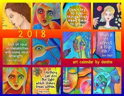 2018 calendar English