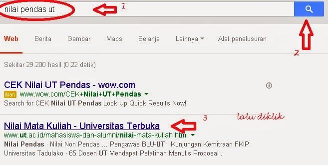 Cara Mudah Lihat Nilai Pendas di UT (Universitas Terbuka ...