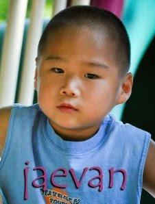 Jaevan, 4 years