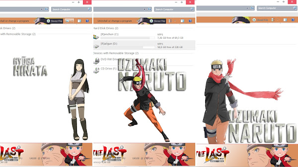 [Theme Win 7] Naruto The Last Movie – Naruto x Hinata by Eldiaz7 3