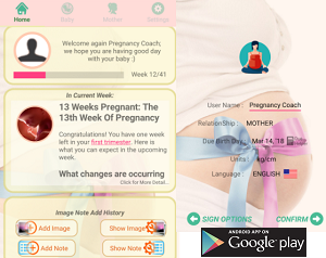 Parenting App of the Month - Pregnancy Coach