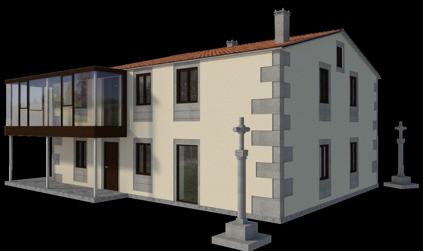 Blog arcadia rehabilitacion de casa rectoral en lugo - Rehabilitacion de casas ...