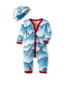 MyHabit: Up to 60% off Madboy for Baby Boys: Long Sleeve Romper with Hat