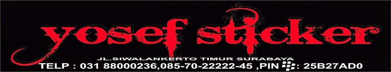 YOSEF CUTTING STICKER  (SURABAYA CUTTING STICKER  NINJA 250) STICKER (ninja 250 decal sticker)