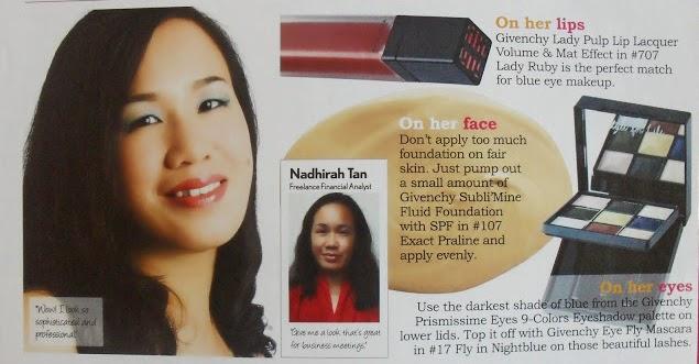 a makeover in Female magazine