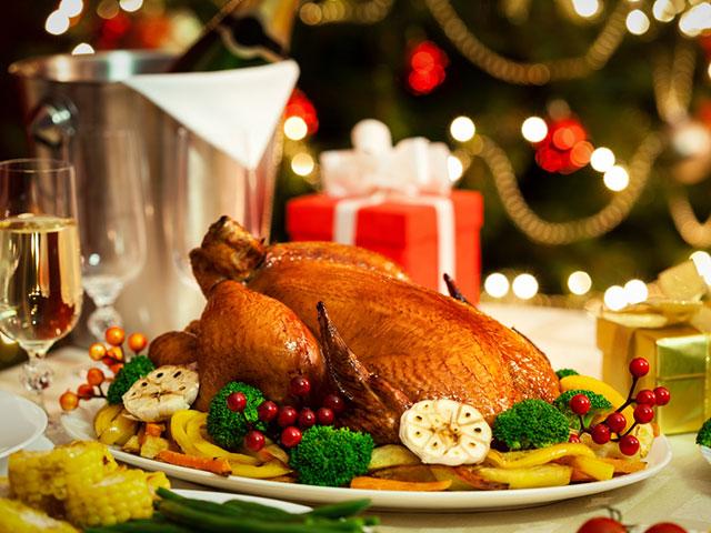 Ceia de Natal. Foto: Shutterstock