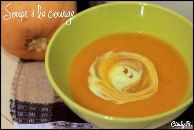 Cindylicious soupe la courge - Robot pour faire la soupe ...