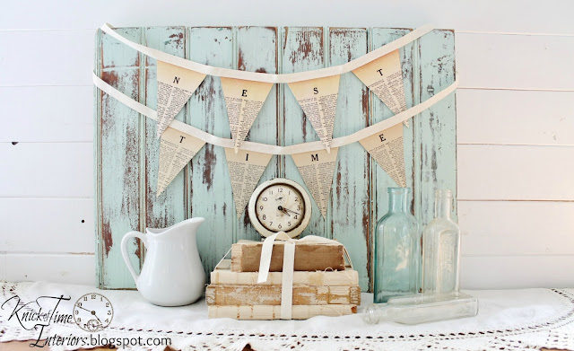 dictionary page pennant printable banners home time love and nest printable tutorial