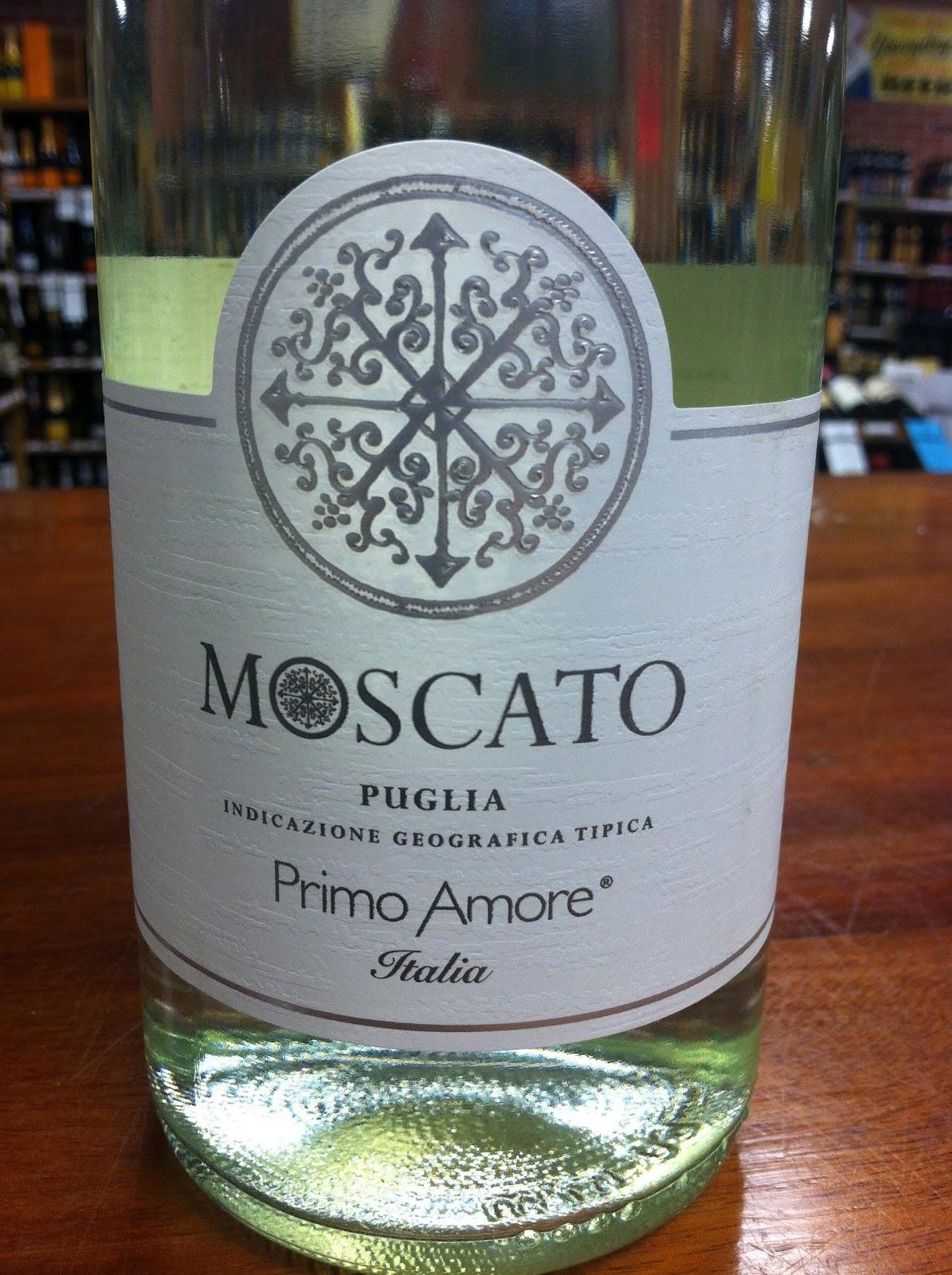 Sarah 39 s wine blog tasting moscato puglia primo amore - Olive garden moscato primo amore ...