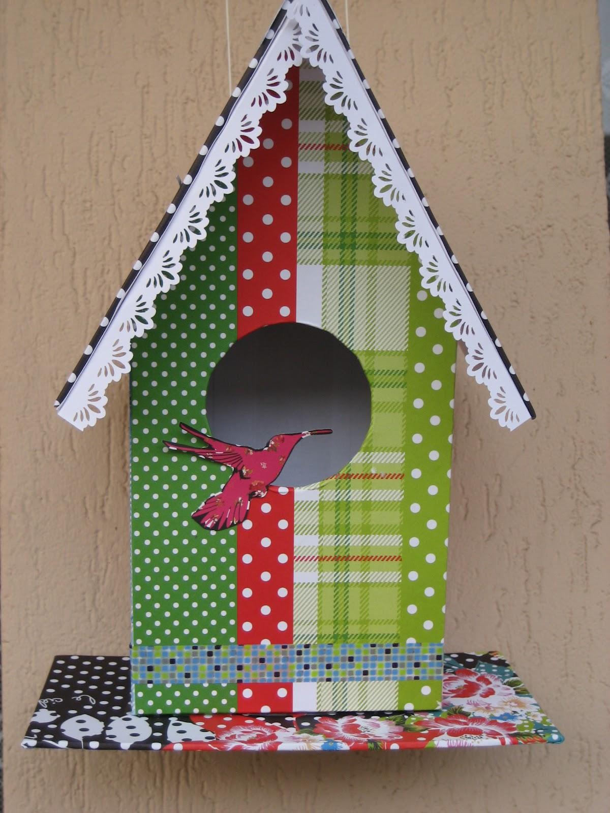 Manualidades y tendencias c mo hacer una casita para p jaros diy how to make a birdhouse - Casita para pajaros ...